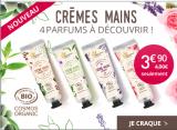 À GAGNER  !  4 nouvelles 50 lots crèmes mains parfumées
