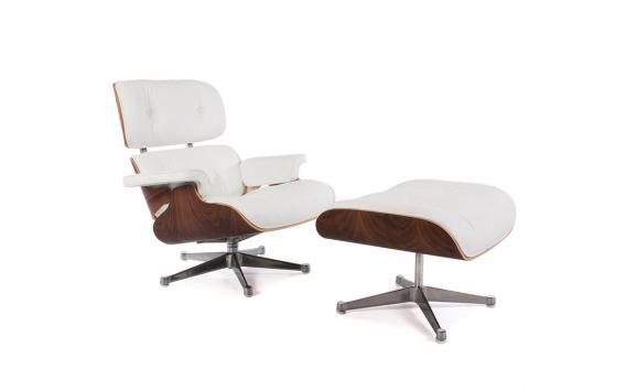 Fauteuil Lounge Eames - NoyerFauteuil Lounge Eames - Noyer