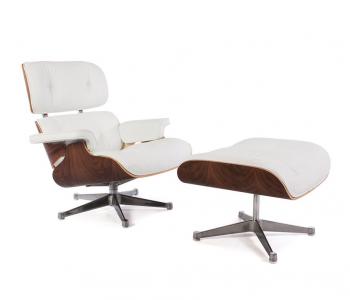 Fauteuil Lounge Eames – Noyer