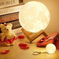 Lampe 3D lune tactile (avec un joli emballage)